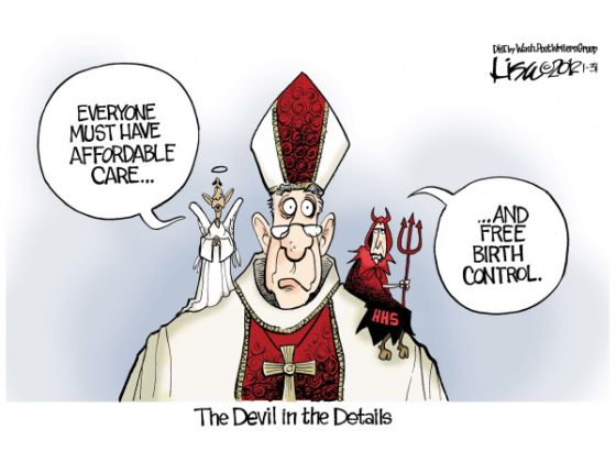 Obama vs Catholics