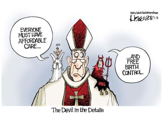 Obama vs Catholics