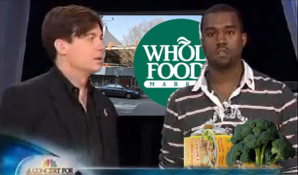 Kanye West Mike Myers Whole Foods